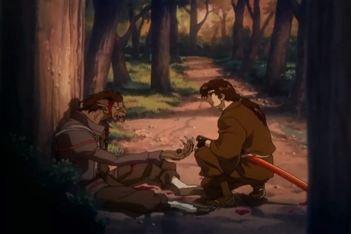 Ninja Scroll TV Werewolf Ninja And Jubei