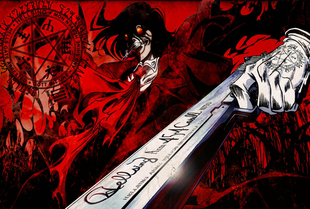 Hellsing Ultimate Anime Review Nefarious Reviews