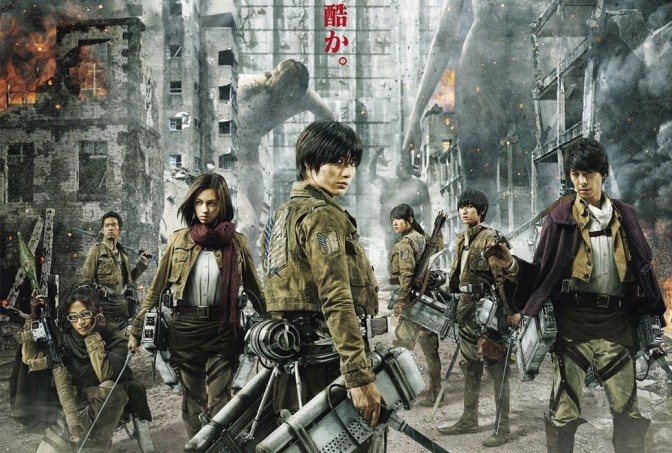 Attack on Titan – Live Action Movie – Anime Review