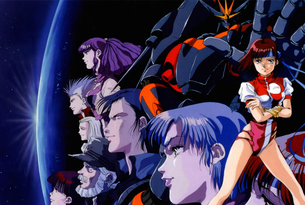 Anime Characters 80s : Gunbuster anime review nefarious reviews