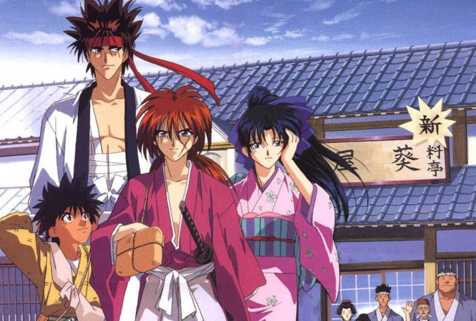 Image result for rurouni kenshin anime