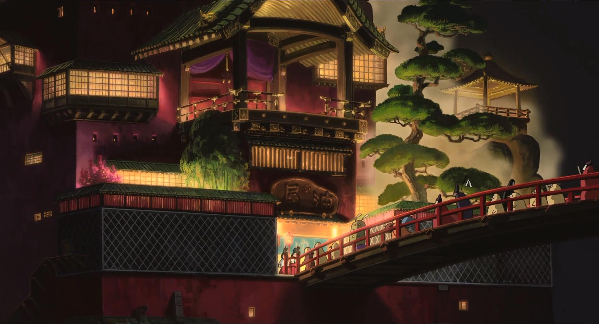 Spirited Away Bath House Nefarious Reviews