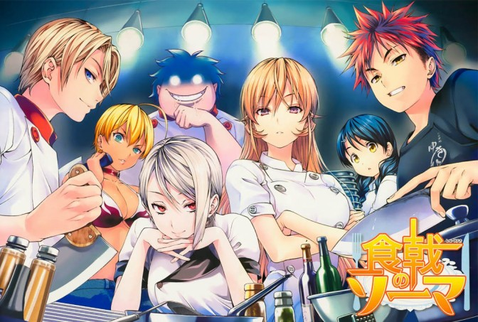 Food Wars – Anime Review