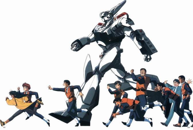 Mobile Police Patlabor TV – Anime Review
