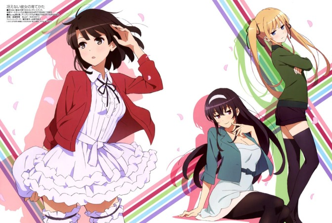 Saekano: How to Raise a Boring Girlfriend – Anime Review