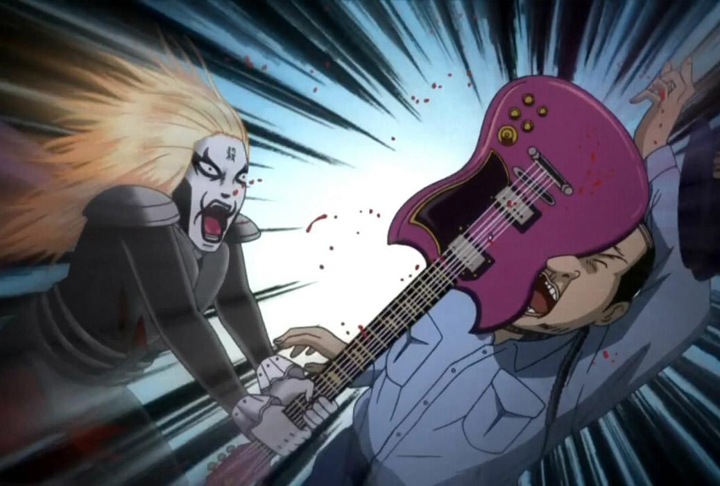 Anime de música, comédia e seinen - Detroit Metal City
