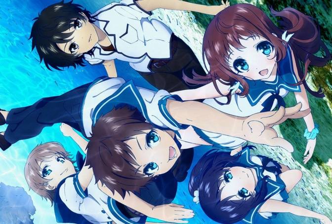 A Lull in the Sea – Anime Review