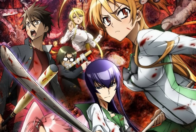 High School of the Dead – Anime Review