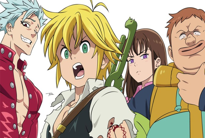 The Seven Deadly Sins – Anime Review