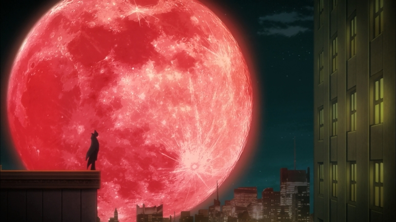 Blood Red Moon Anime