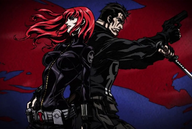 Avengers Confidential: Black Widow & Punisher – Anime Review