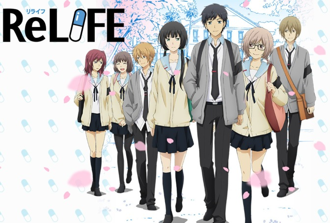 ReLIFE – Anime Review